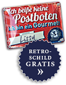 Retroschild Gratis